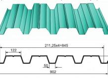 Профнастил Н60-845